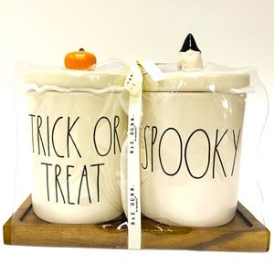 Rae Dunn Trick or Treat & Spooky Canister
